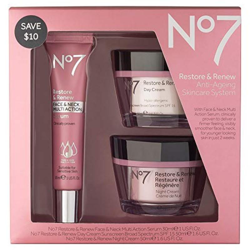 No7 Restore & Renew F...