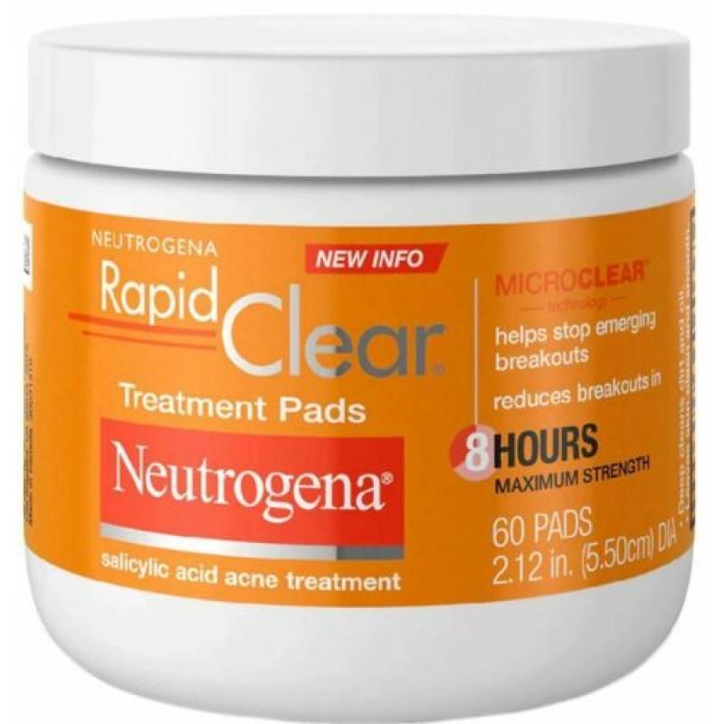 Neutrogena Rapid ClearMaximum Strength Acne Treatment Pads