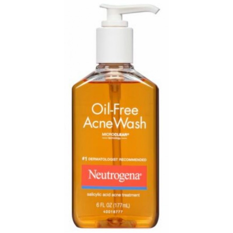 Neutrogena Oil-Free Acne Wash 6 fl oz