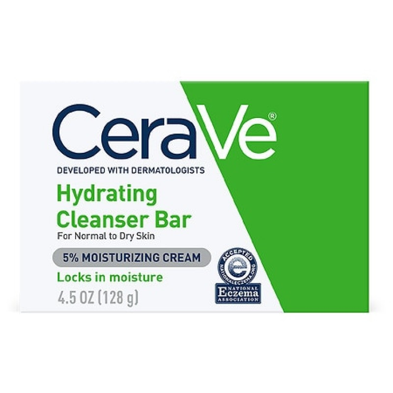 CeraVe Hydrating Cleansing Bar for Normal to Dry Skin 4.5 oz
